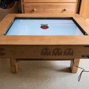 "Touch Screen Coffee Table DIY With 32"" TV and Low Cost CCD Sensor"