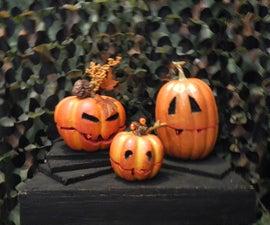 Animatronic Singing Pumpkins