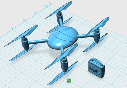 Drone Design: 3/4 Making a Delivery Drone
