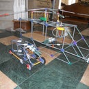 Knex Army Helicopter with Army Jeep
