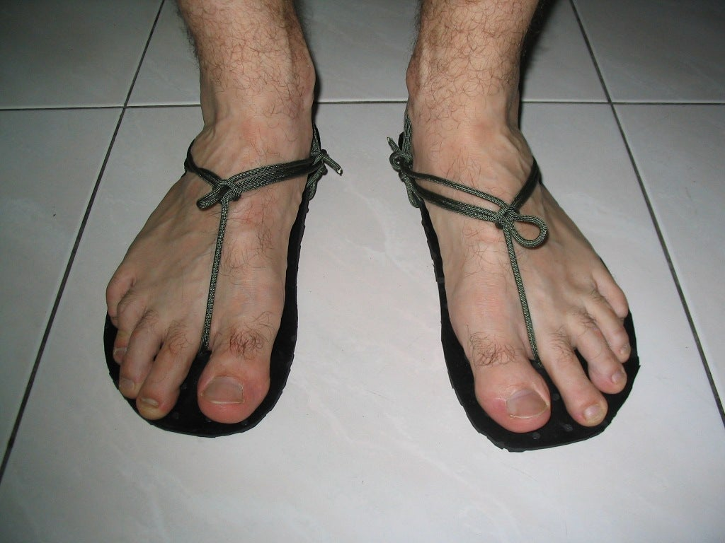 19143ff3394a Minimalist Running Sandals (Huaraches)  6 Steps (with Pictures)