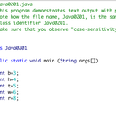 Java easy starter Project