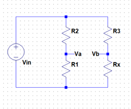 Wheatstone Bridge Implementation for a Light-Dependent Resistor