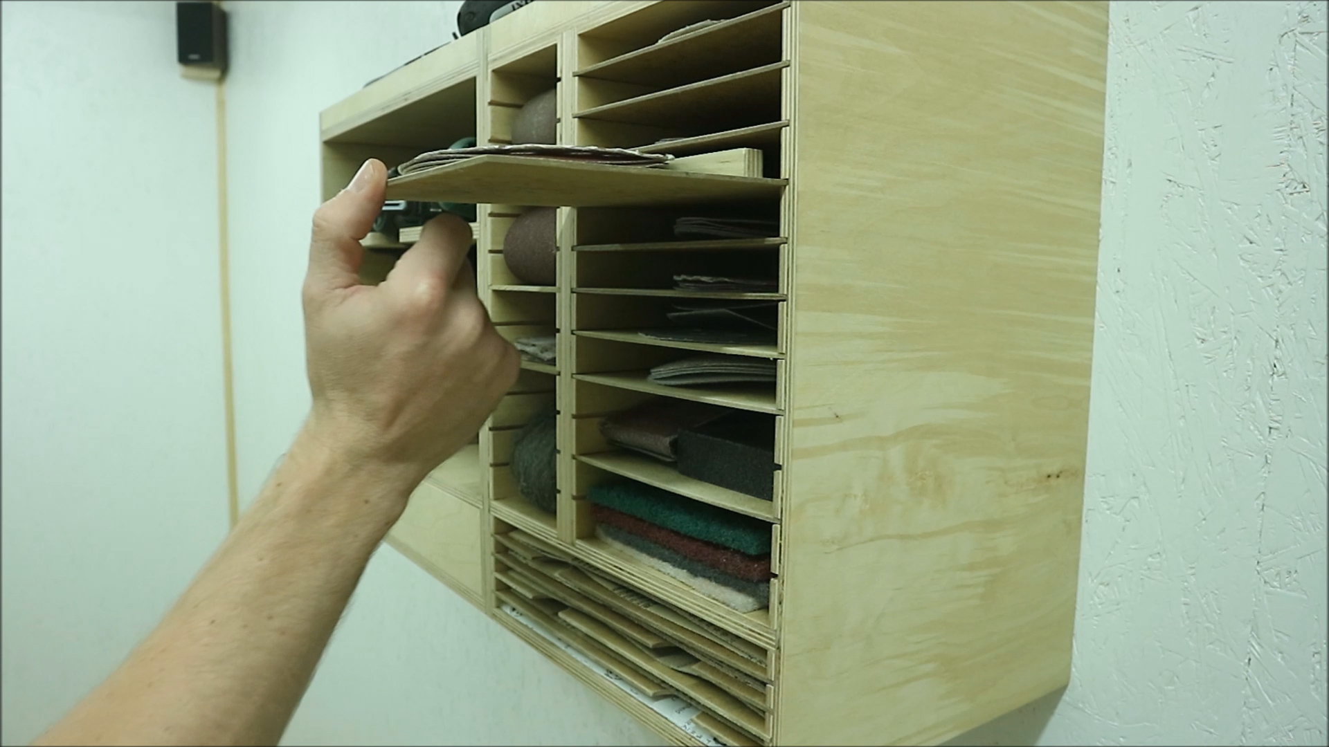 Picture of Making the Pull Out Shelves