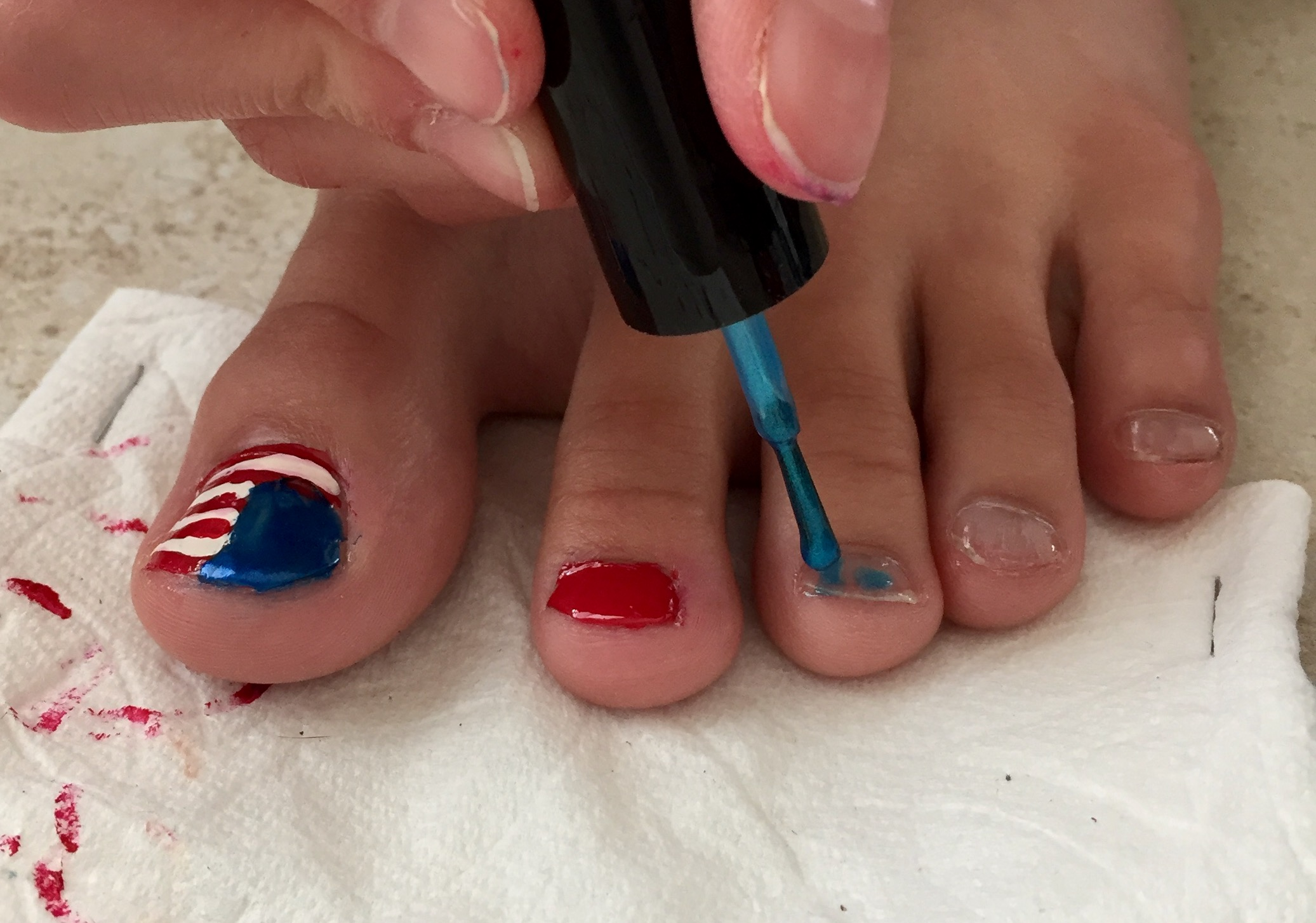 Picture of Continue on to the Next Toe