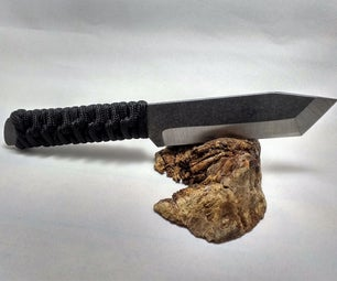 Making a Cord-Wrapped Tactical Knife