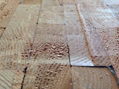 Planning and Sanding Wood