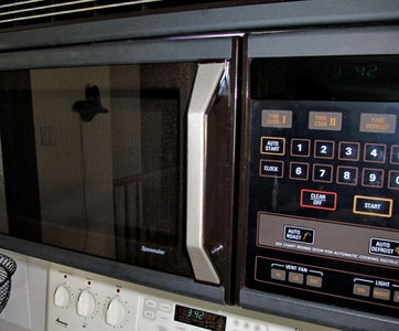 Fix the Handle on a Microwave Oven