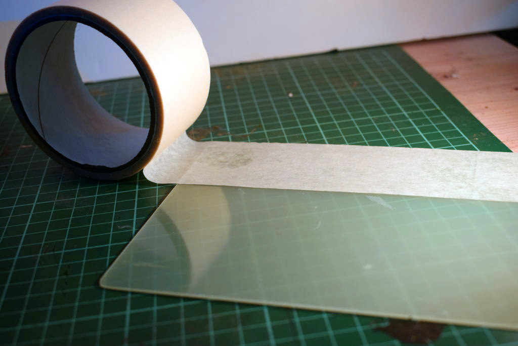 Picture of Preparing the Print Surface: