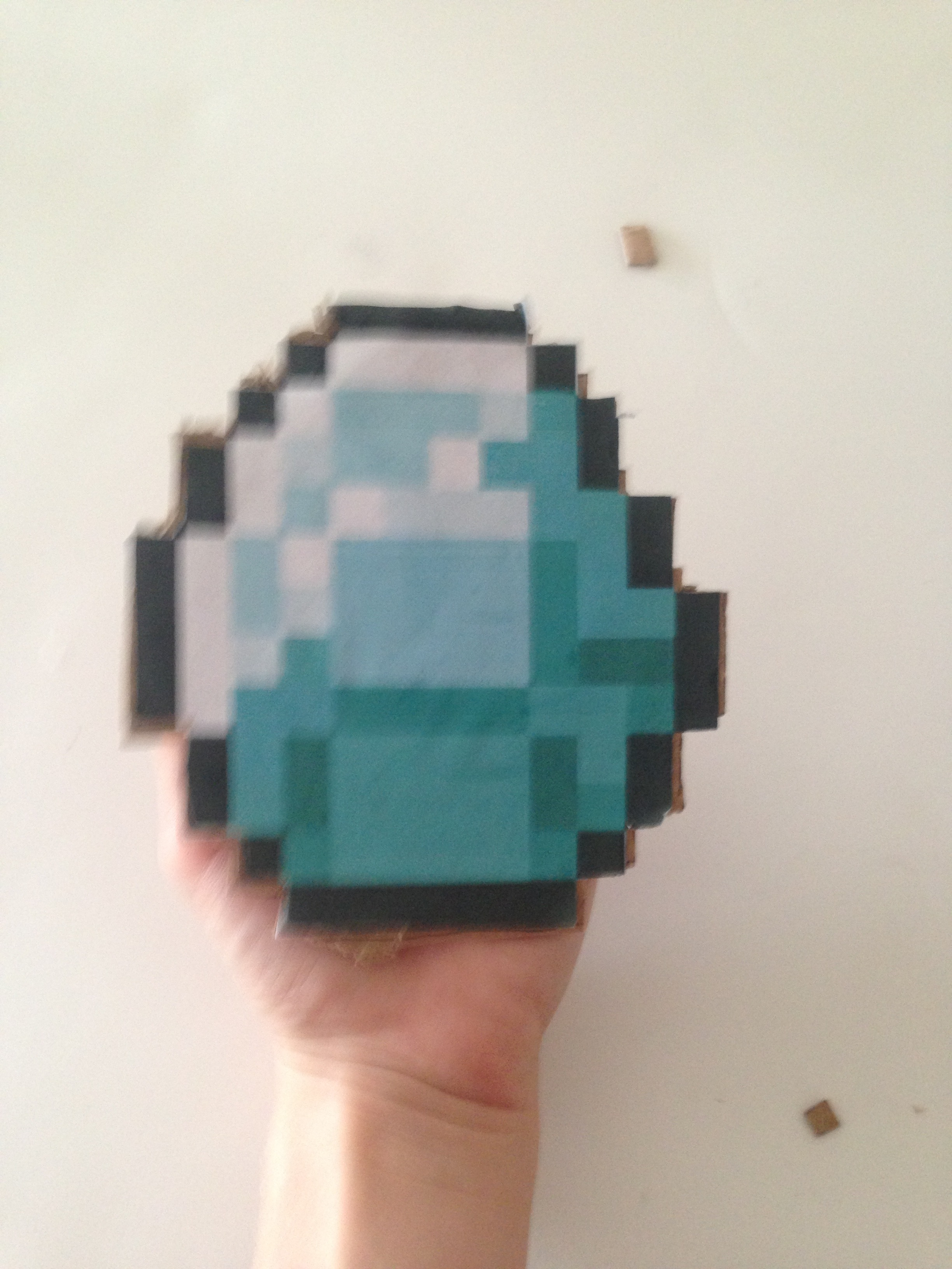 Picture of Paper Minecraft Items