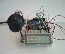 Arduino Joystick Breadboard with LCD Output