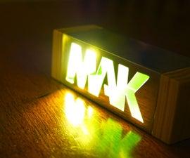 LED Illuminated Logo