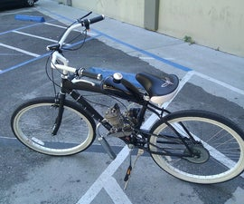 Motorized Bicycle Assembly Overview