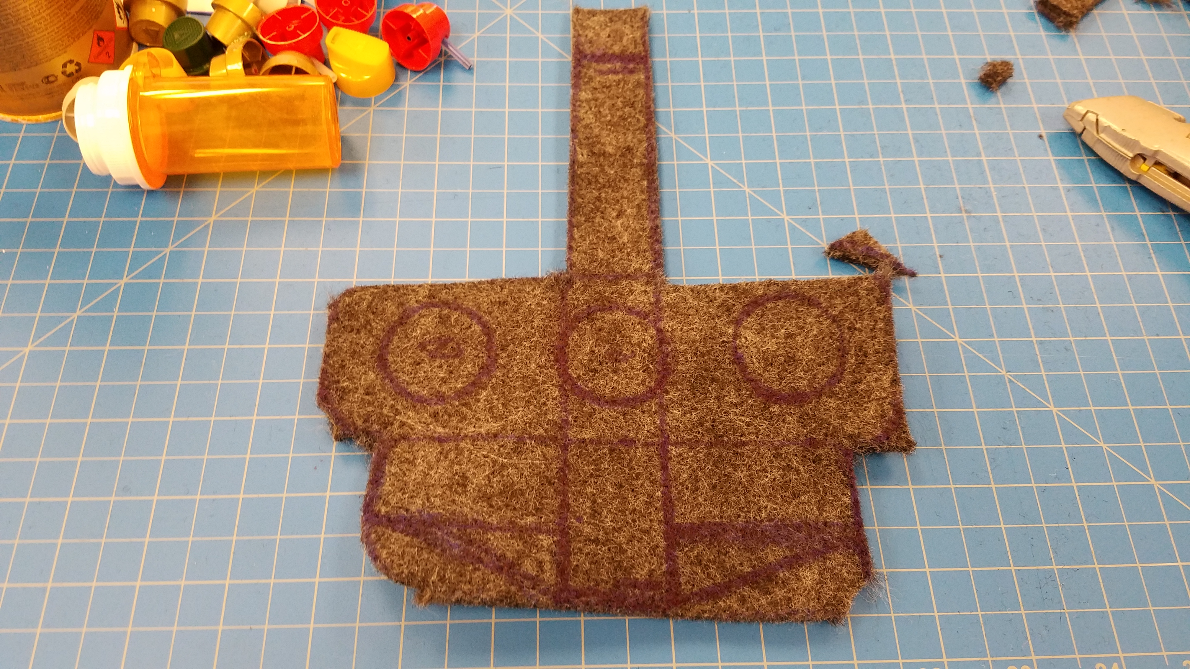 Picture of Cut Out Felt.