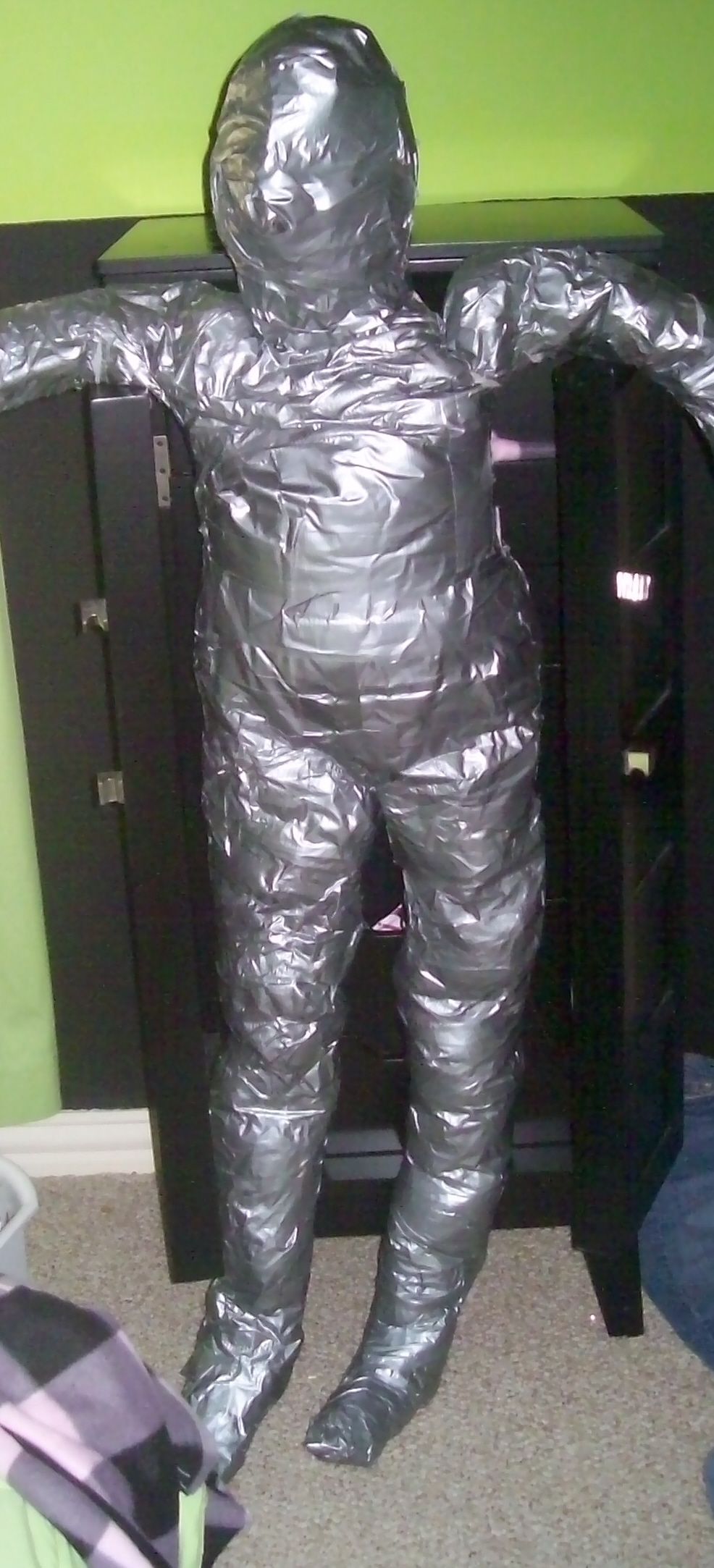 Picture of How to Make a Duct-Tape Dummy