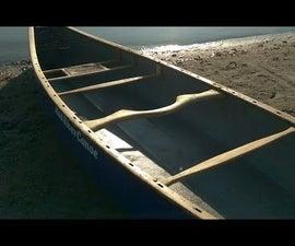 How to make a canoe carrying yoke