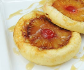 Pineapple Upside Down Pancakes (Gluten Free)