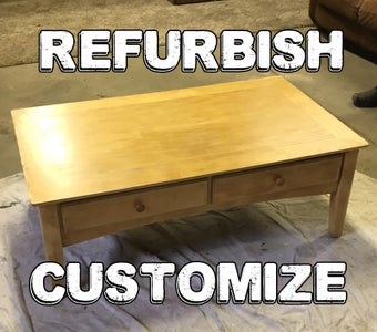 Breathing New Life Into a Coffee Table