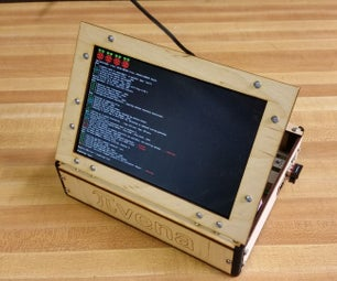 PIvena Assembly Instruction With 1280x800 Display