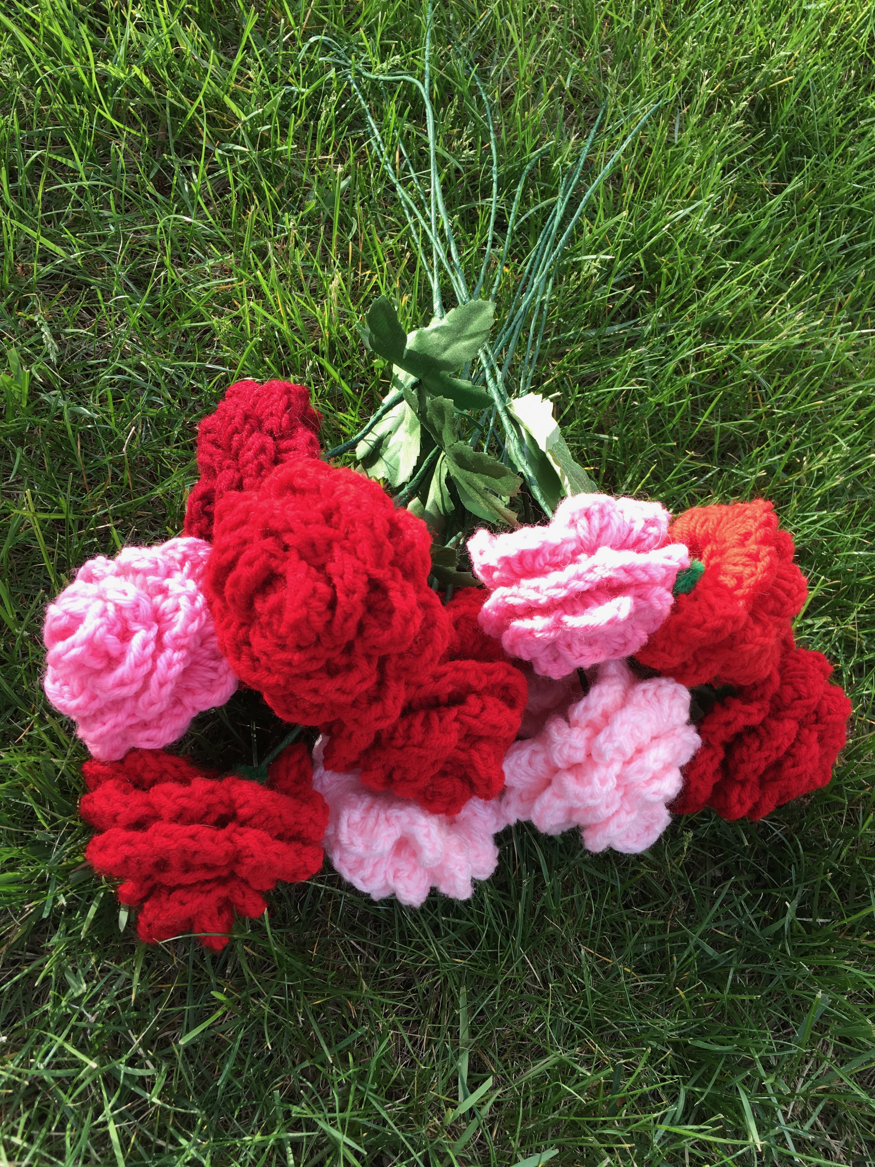 Picture of Easy Crocheted Roses