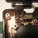 Repair broken hinges of a laptop screen.