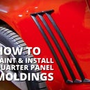 Paint & Install Quarter Panel Moldings - Stormtrooper Camaro Fan Build