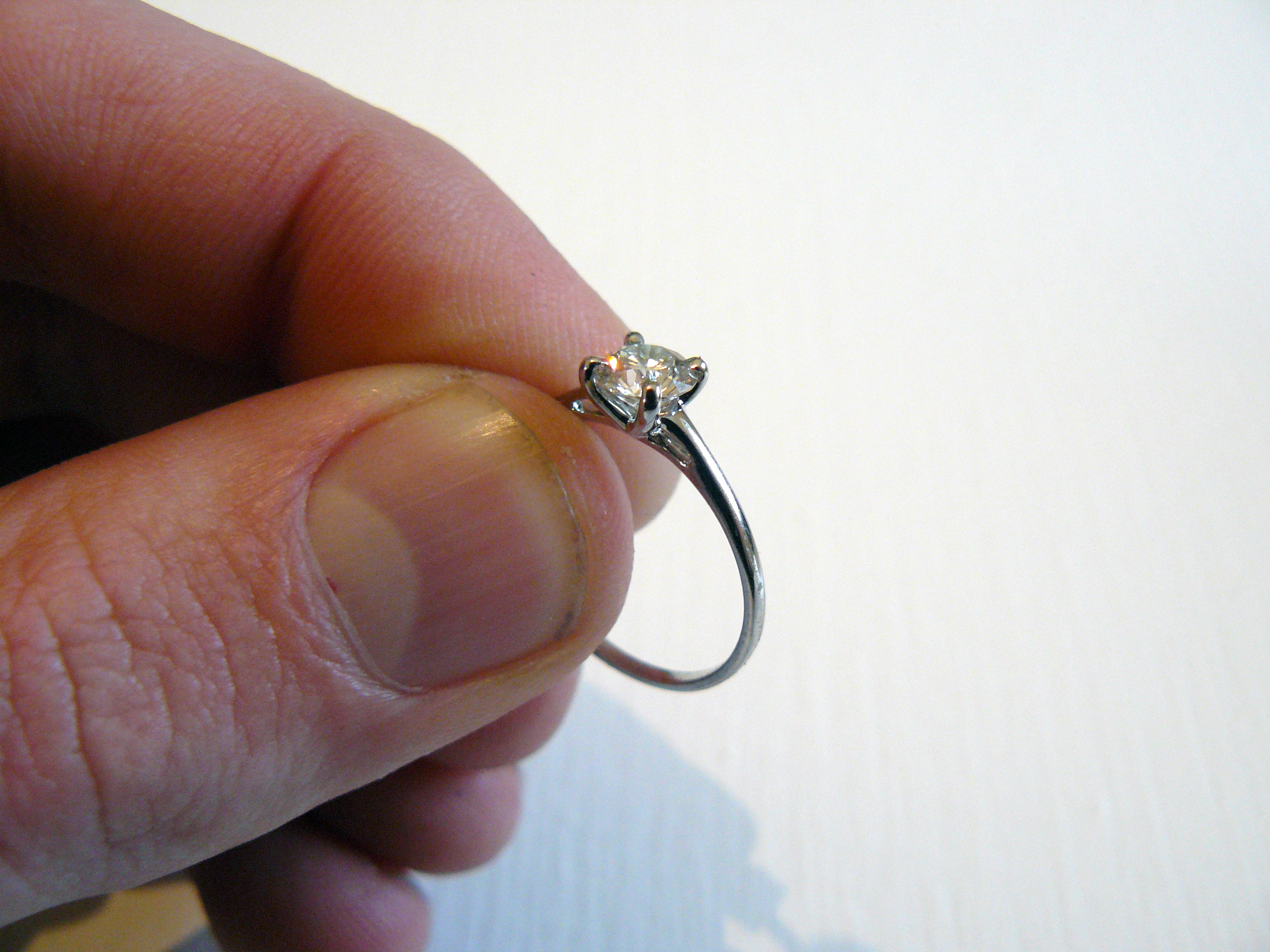 How To Make A Solitaire Engagement Ring 8 Steps With Pictures