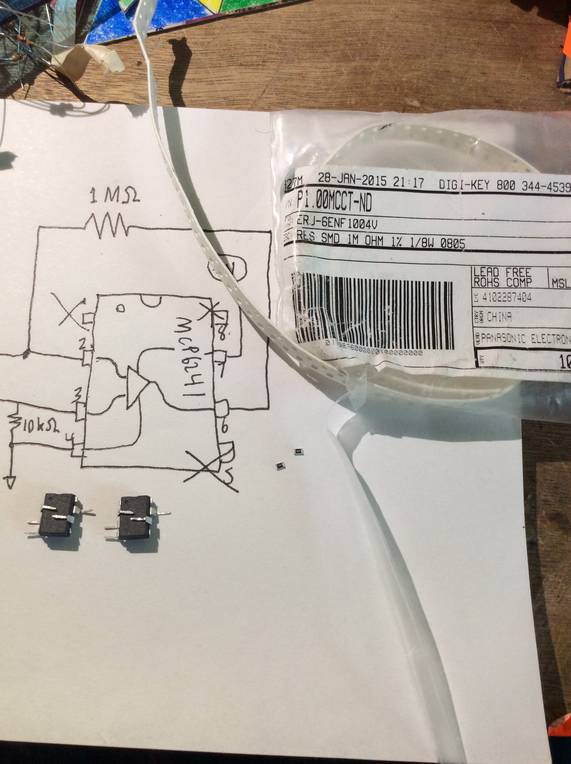 Picture of Add Feedback Resistor