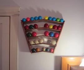 Juggling Ball Storage Rack