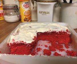 Moist Red Velvet Cake