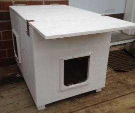 Cat House (for the Winter and for Feral cats)