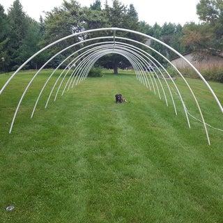 PVC Haunted Tunnel With Laser Vortex