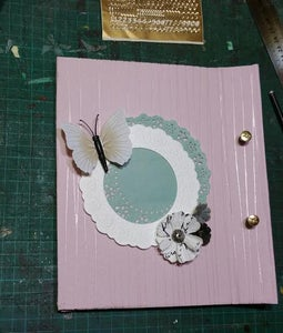 Making the Holes and Finishing the Book