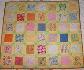 Charm Pack Baby Quilt