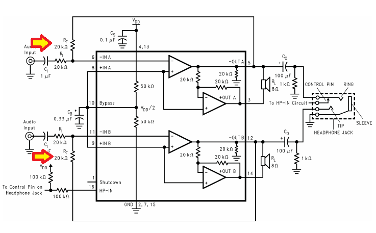 Picture of Identifying the Amplifier Chip