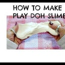 EASY PLAY DOH SLIME