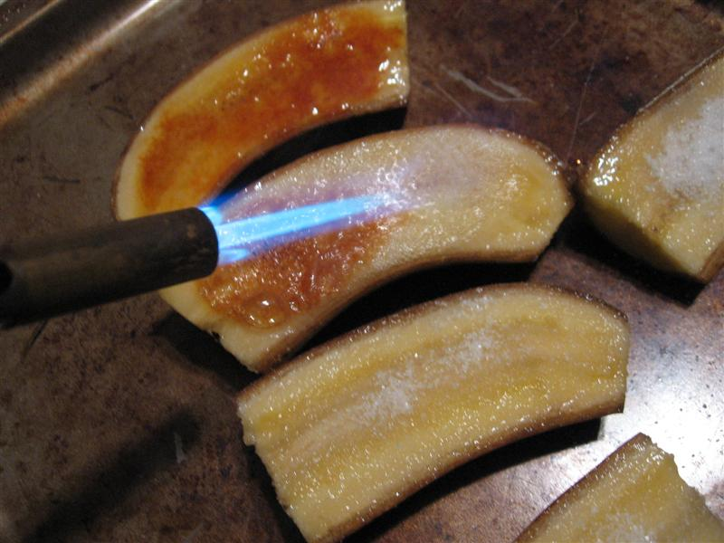 Picture of Bananas Brulee