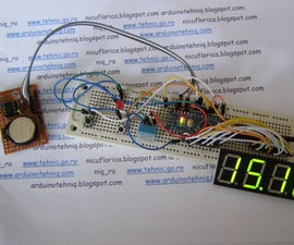 4-digit 7-segment Led Clock With Manual Adjust & Alarm, Thermometer & Higrometer Using Arduino