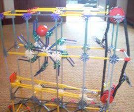 Knex ball machine: Project Spinzy