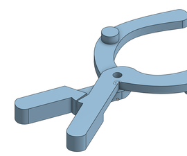 Hair Tie Clamp for Amputees