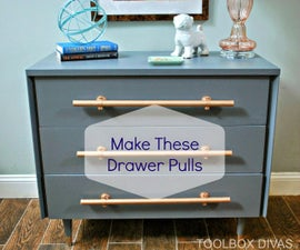 Make Handles for Cabinets and Dressers