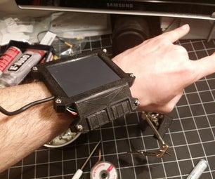 Wearable Cyberpunk Gesture Pad