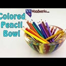 How to Make A Resin Cast Colored Pencil Bowl -