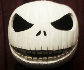 "Jack Skellington Pumpkin Carving ""The Pumpkin King"""