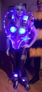 LED Lights AGLOW!