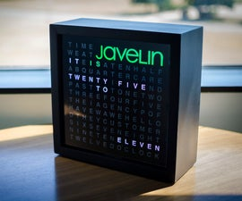 Javelin's Word Clock