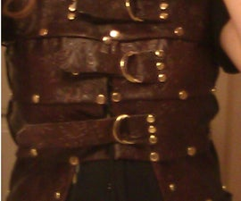 How to Make a Brigandine Without Knowing How to Sew or Work Leather: AKA Why would you pay $100 at a Renfair for something you can make in one weekend for under $30?