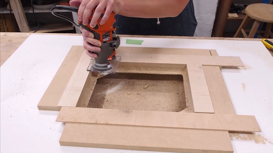 Countersink the Router Lift / Insert Plate