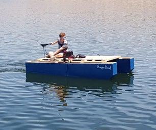 Modular Wooden Catamaran