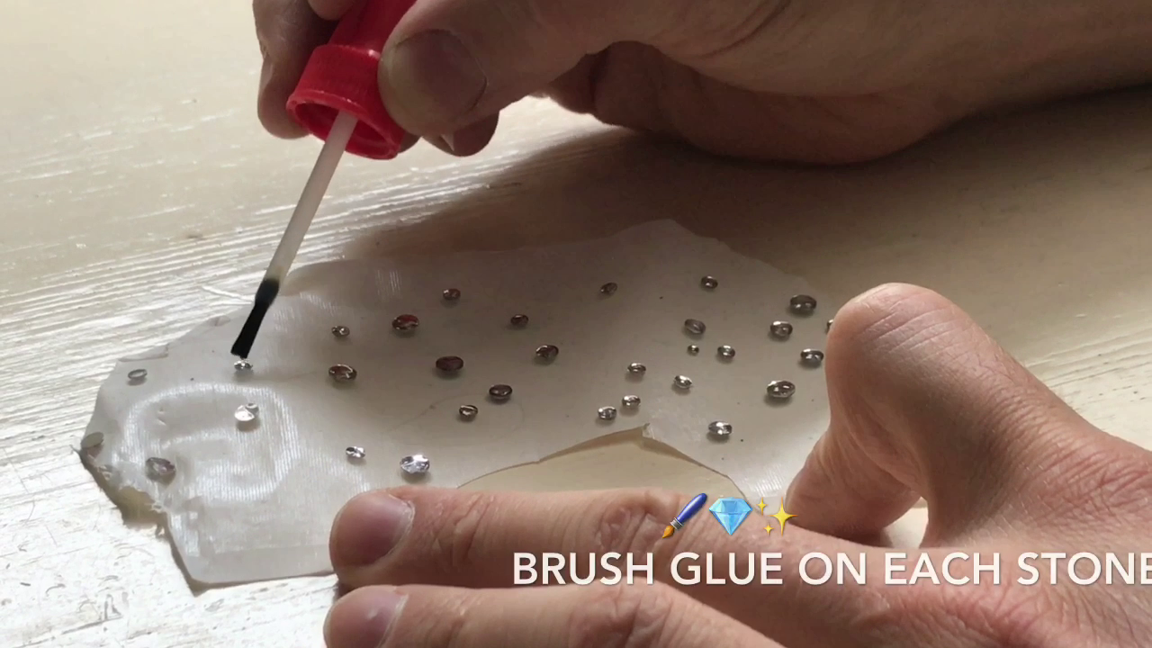 Picture of Brush on Your Glue!